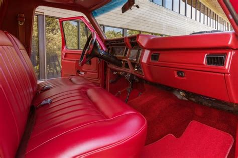 1985 Ford Bronco Interior by 1985 Ford Bronco Custom 4x4 Xlt For Sale Photos