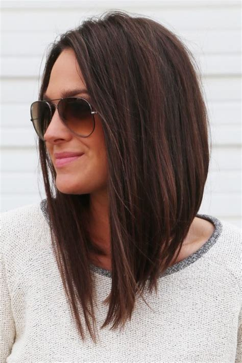 angled long hair long in front best 25 long angled bobs ideas on pinterest angle bob
