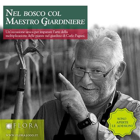maestro giardiniere nel bosco col maestro giardiniere flora 2000