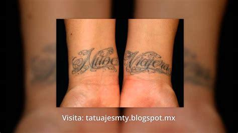 imagenes tatuajes chidos tatuajes de nombres dise 241 os chidos youtube