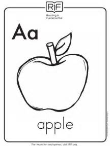 Galerry nutrition alphabet coloring pages