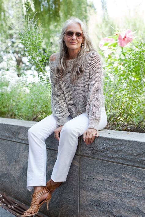 perfect style for a 60 year old how this 63 year old model stays gorgeous refinery29