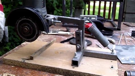 Bench Vice Stand Angle Grinder Stand 2013 06 08 Youtube