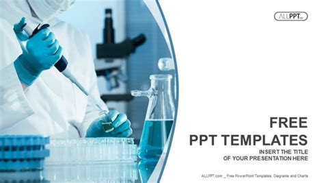Scientific Researcher In Medical Powerpoint Templates Healthcare Powerpoint Templates Free