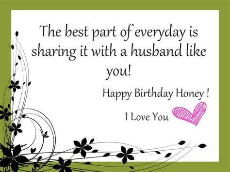 Husband Birthday Card Quotes Happy Birthday Husband Wishes Messages Quotes And Cards