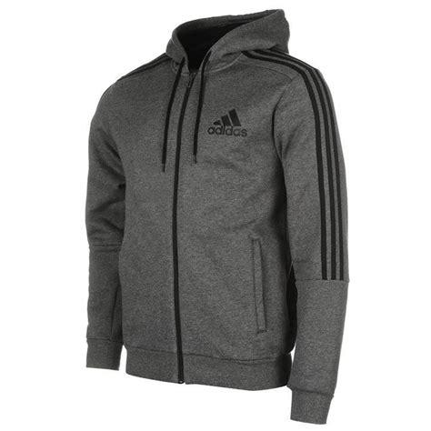 Hoodie Sweater Zipper Liverpool Fc adidas 3 stripe zip hoody mens grey black hoodie