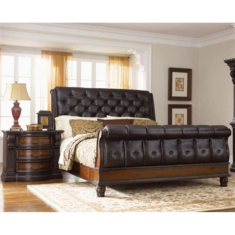 King Headboard Bedroom Sets by Grand Estates Upholstered 6 King Bedroom Set