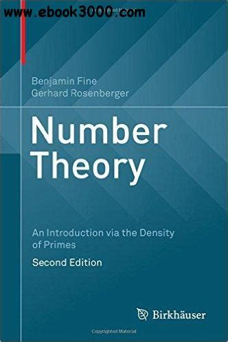 Theory An Introduction number theory an introduction via the density of primes