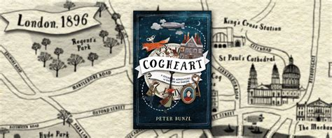cogheart cogheart adventures 1 peter bunzl author of the cogheart adventures