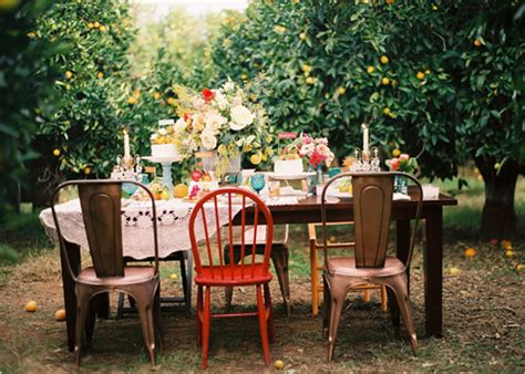 outside party outdoor dinner party the style files