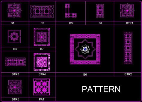 islamic pattern autocad free download free acad msi rar files