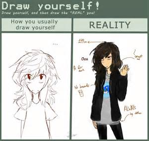 Draw Yourself Draw Yourself Meme Sara By Imagine Midnightcats On Deviantart