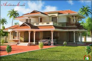 Traditional Style Homes bed room traditional style house design architecture kerala