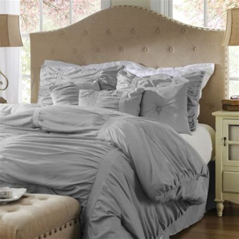 grey ruched comforter 17 best images about comforters on pinterest lush