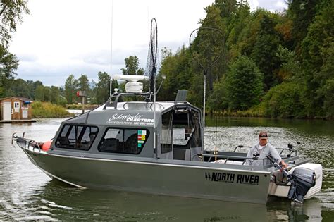 columbia river salmon fishing find sports fishing - Where Are North River Boats Made
