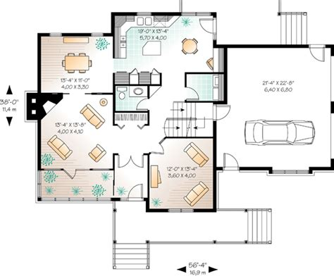 Floor Plans With Mother In Law Suite house plan 65135 country farmhouse plan with 2189 sq ft