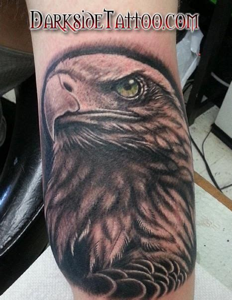 bald eagle tattoos black and gray bald eagle tattoos and piercings
