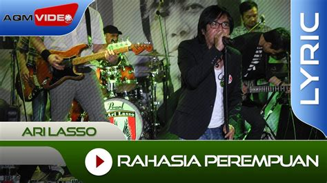 free download mp3 ari lasso feat once rahasia perempuan ari lasso rahasia perempuan feat once official lyric