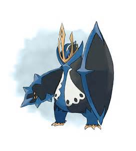 mega empoleon by lebovaro on deviantart