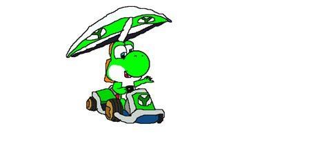 Yoshi Mariokart7 mario kart 7 yoshi by yoshibro1 on deviantart