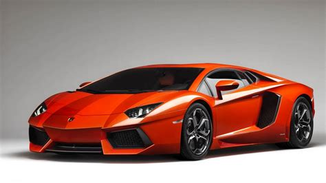 Orange Lamborghini Orange Lamborghini Aventador Wallpaper For Android