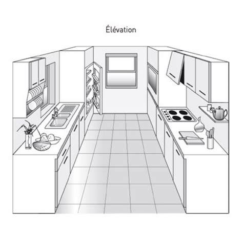 plan cuisine en parall鑞e plan de cuisine en parall 232 le kitchens kitchen design