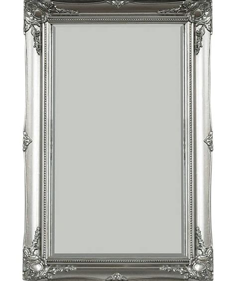 bathroom mirrors argos buy maissance swept wall mirror silver at argos co uk
