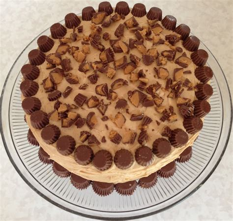 peanut cake living on cloud nine quot the quot cake reese s peanut butter cake