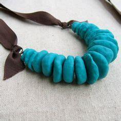 How To Make Paper Mache Jewelry - paper mache necklace paper necklace paper jewelry by