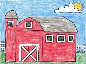 Barns For Kids Country Barn Art Projects For Kids
