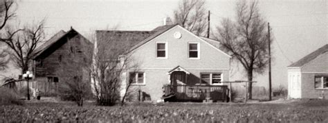Rancher House by In Cold Blood Murder House In Holcomb Kansas House