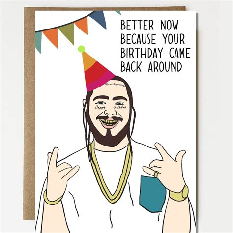 Birthday Cards For To Post On