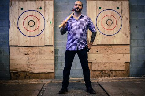 backyard axe throwing toronto the backyard axe throwing league video