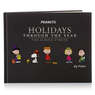 peanuts 5 minute stories peanuts holidays through the year five classic stories by