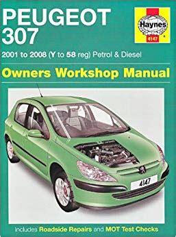 Peugeot 307 Petrol And Diesel Service And Repair Manual