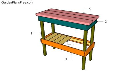 bbq table plans free garden plans how to build garden