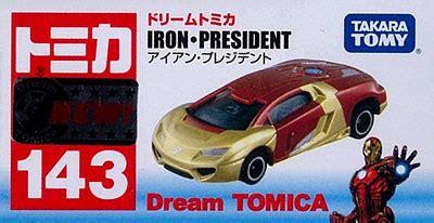 Iron President Takara Tomy 143 amiami character hobby shop tomica no 143 iron