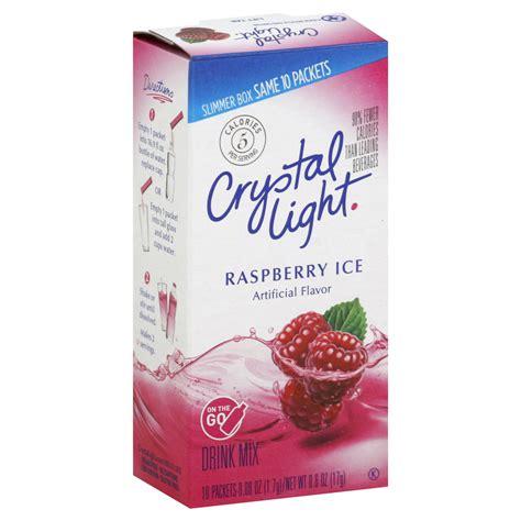 crystal light drink mix crystal light soft drink mixes upc barcode upcitemdb com