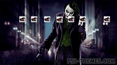 download themes joker ps3 themes 187 joker theme