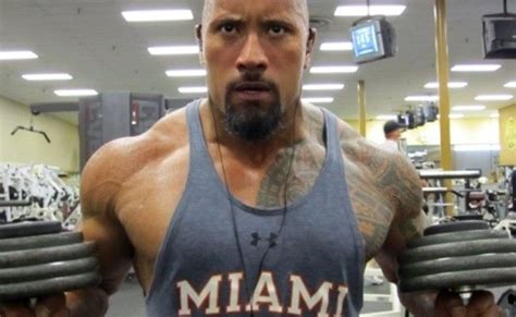 dwayne johnson bench the rock dwayne johnson s workout routine and diet