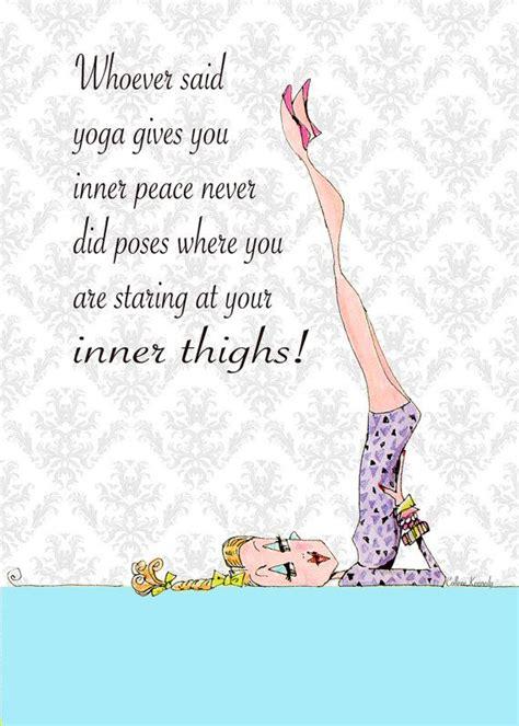 free printable yoga quotes yoga art woman humor 5 x 7 print funny yoga poses yoga