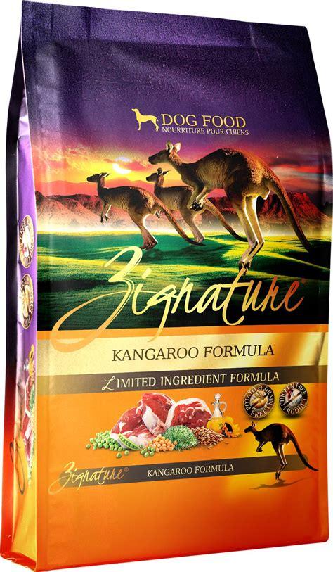 limited ingredient food zignature kangaroo limited ingredient formula grain free food 27 lb bag