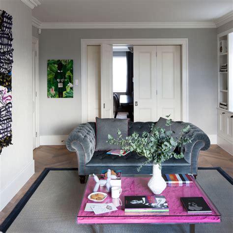 Modern Living Room Design Uk Classic Grey Living Room With Modern Accents Living Room