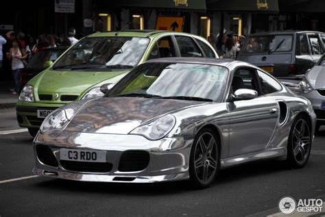 porsche chrome always shiny porsche 996 turbo in chrome