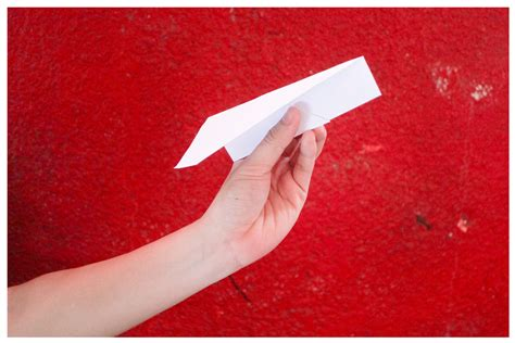 Wiki How To Make A Paper Airplane - how to make a nakamura lock paper airplane 7 steps