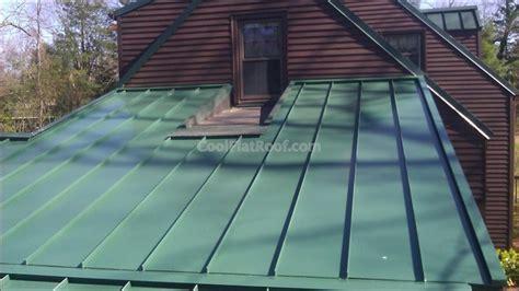 Flat Metal Roof Standing Seam Metal Roof West Hartford Ct Traditional