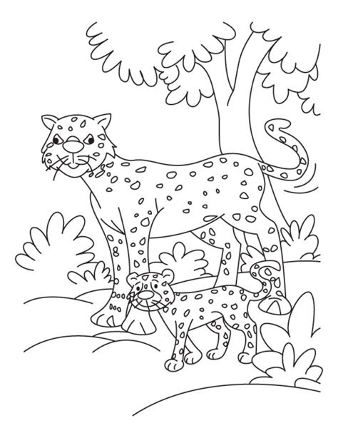 cute cheetah coloring page get this cute baby cheetah coloring pages 3ab4m