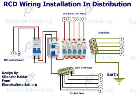 rcd wiring diagram efcaviation