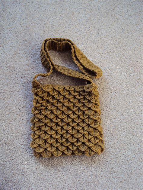 crochet pattern crocodile stitch bag crocodile stitch bag 171 free crochet patterns