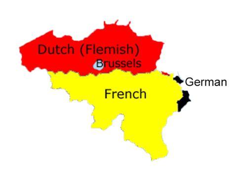 belgium language map belgium wanzeele